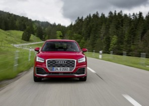 Audi Q2 2019 rojo